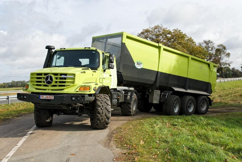 Pruebas a campo de tractores versus camiones