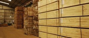 deposito de madera blanda