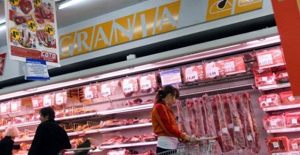 En supermercados la carne mucho más cara