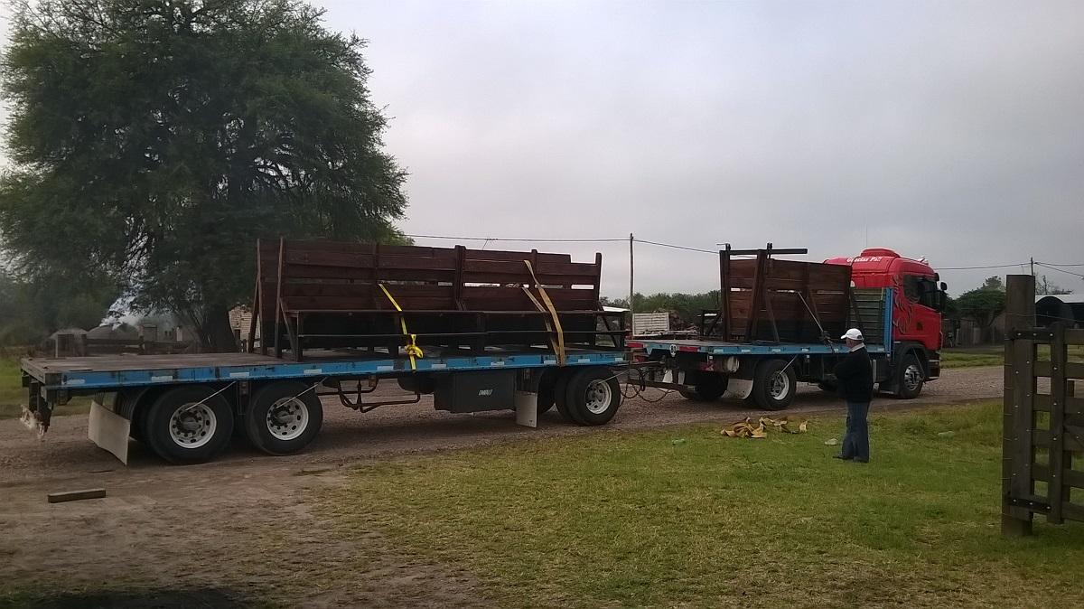 Entregamos nuestro primer trabajo de carpintería en Chaco