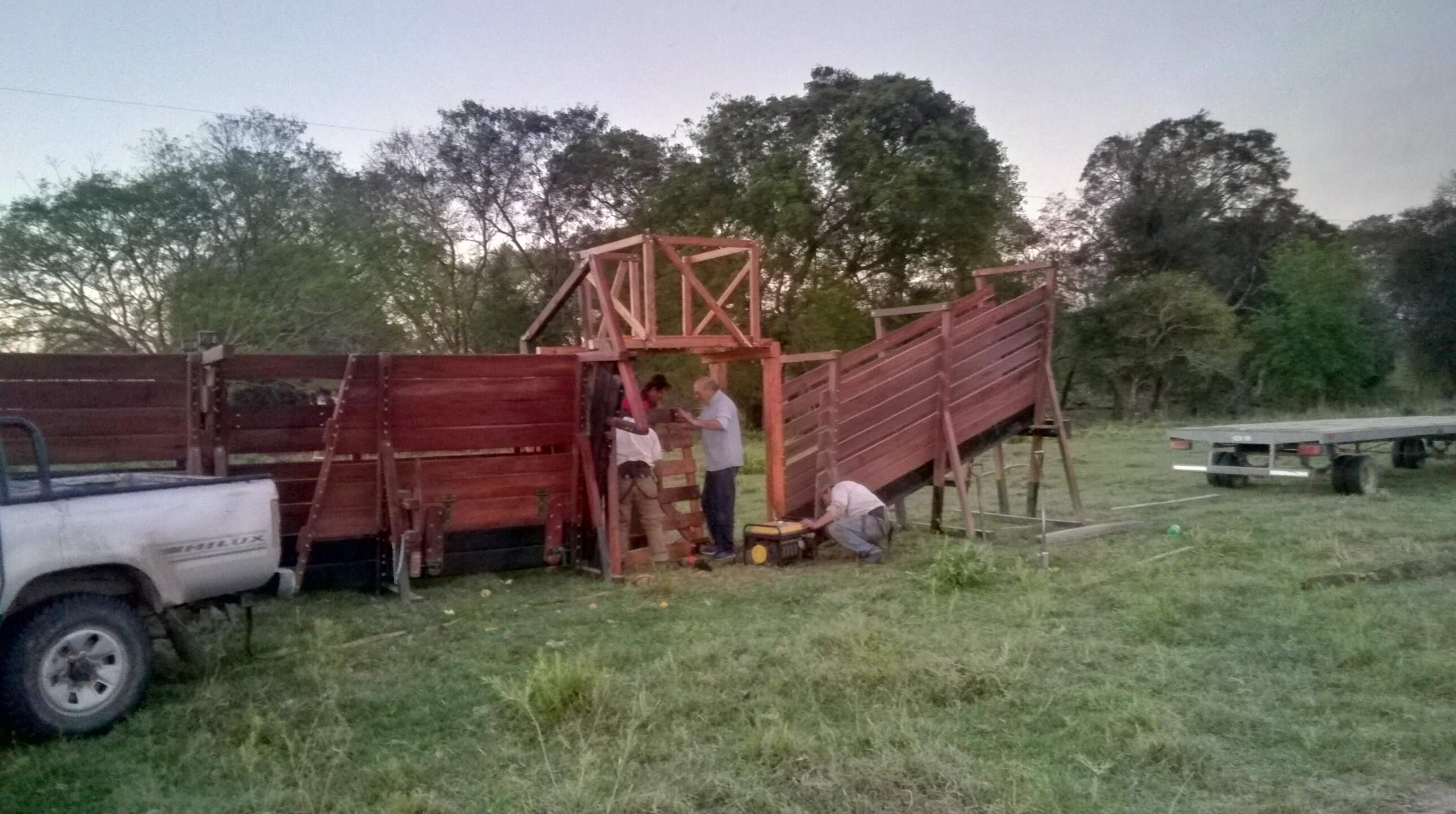 Semana de entrega e instalación de artículos rurales
